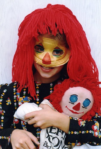 Me as Raggedy Ann a loooooooong time ago!