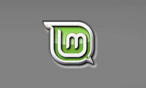 wallpaper linux mint. Mint Sunken Logo [Wallpaper]
