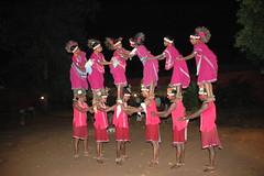 Kanker: un gruppo di danzatori muria (kristin blancke) Tags: etnie chhattisgarh mariadalcornodibufalo