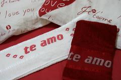 Toalhas românticas (Lila Bordados em Ponto Cruz) Tags:
