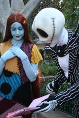 Jack and Sally (briberry) Tags: christmas jack disneyland before disney sally nightmare skellington