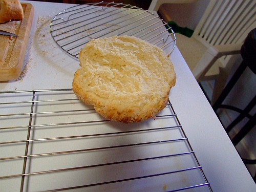 top biscuit cooling