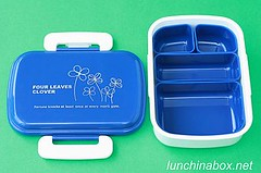 Four Leaves Clover bento box with inserts