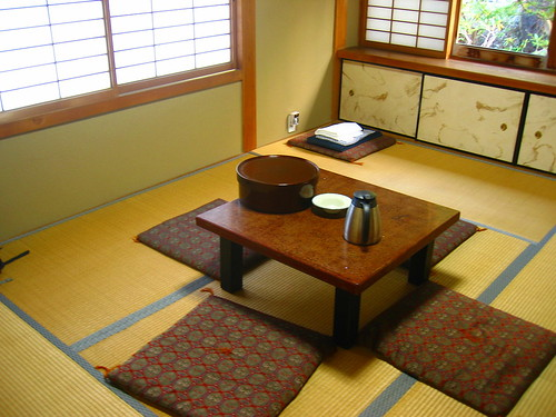 Traditional shukubō room