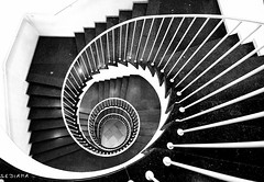 (sediama (break)) Tags: stairs germany hannover explore staircase 1952 treppenhaus denkmalschutz kraemer oesterlen sediama lichtenhahn bysediamaallrightsreserved