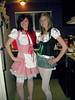 Day 129 - Halloween! (kellymason) Tags: party halloween kitchen littleredridinghood german 365 curlyhair wooo bonneylake beergirl