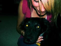 annabelle and I. (ashdarling) Tags: dog cute annabelle ashley australian owner sheperd