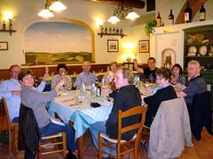 Cheers - dinner at Gallo Nero (Nik Bourbaki) Tags: italy tuscany chianti greve