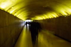Il tunnel a Parigi (max - iogenovese) Tags: light blur paris yellow 50mm nikon tunnel mm 50 steet parigi mosso d80 ilovemypics maxlapiccolacasa iogenovese