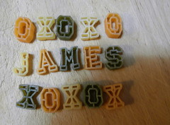 making james' lunch. (stephiblu) Tags: november 3 cooking lunch james pasta noodles ourhouse 2008 xoxoxoxoxo ilovejames makinglunch2am