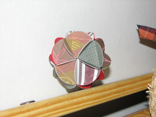 Homemade Paper Ornament