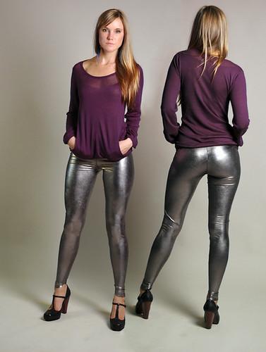 A woman in tight breeches (Jodhpurs)