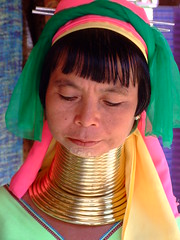 Long neck Hill-tribe 1 (sawaddeedave) Tags: thailand longneck padang hilltribe maehongson padaung kayan longneckkaren burmeseborder