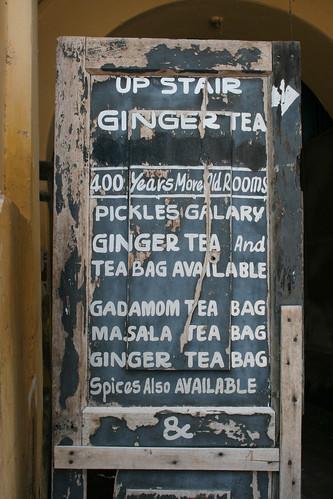 Ginger processing, Jew Town, Kochi