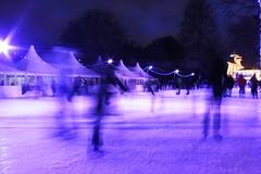 winter wonderland (Chris_J) Tags: park christmas uk longexposure winter london art ice canon festive long exposure iceskating skating gimp hyde hydepark wonderland amateur thegimp iceskate 400d canoneos400d