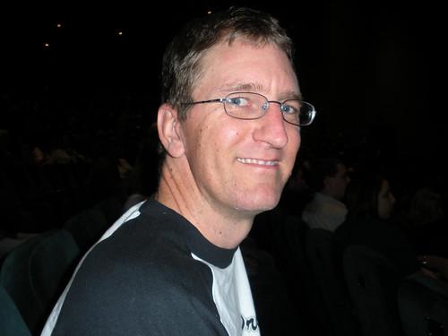 John at the concert