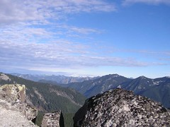 Glacier Peak from the summit of Putrid