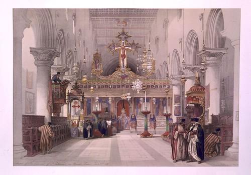 004-Capilla del convento de Sta. Catalina en el Monte Sinai