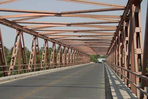 Bridge north of Piura, Peru.