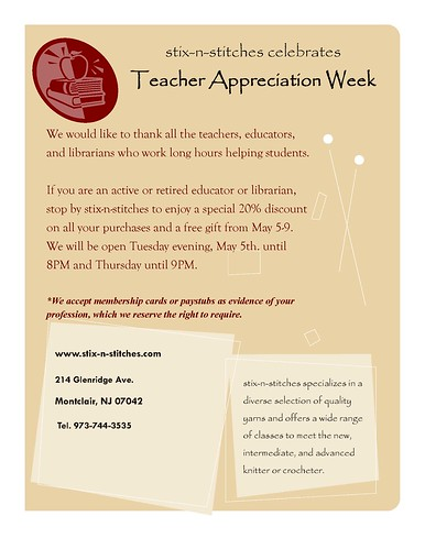 teacher appreciation