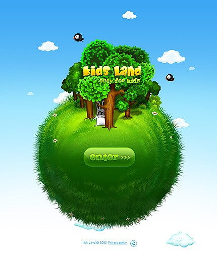 Flash site 18313 Kids land