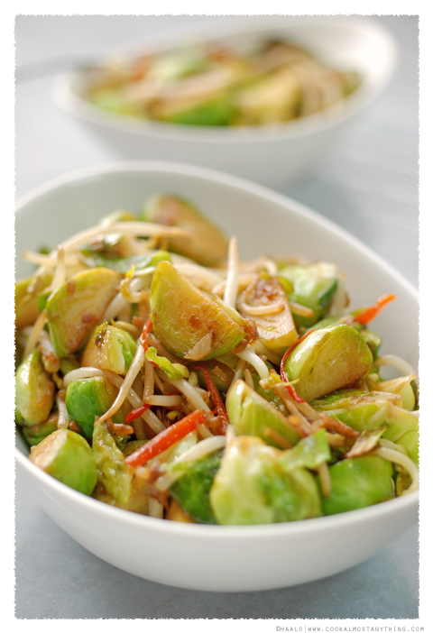 stir-fried sprouts© by Haalo