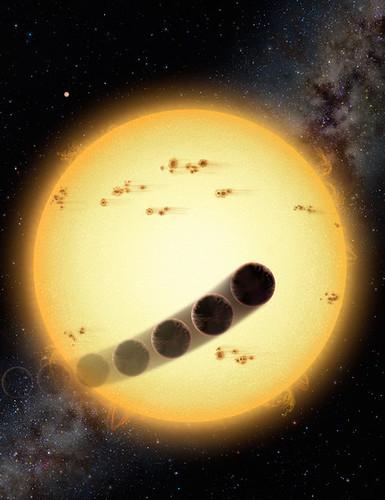 Júpiter caliente retrógrado