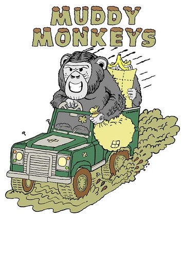 Muddy Monkeys Landrover Team by S.D. Adams (aka Horsey McBoo)