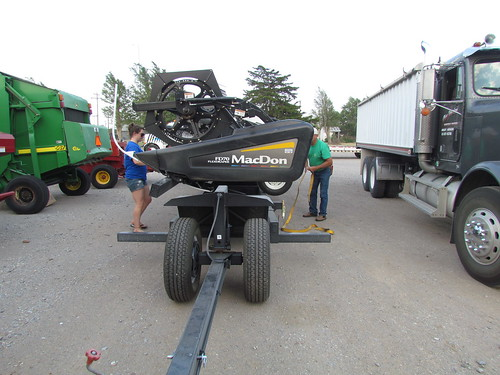 Moving equipment from Arnett to Canadian.