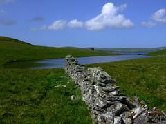 Peerie Loch that used to feed the Click Mill (nz_willowherb) Tags: mill island see scotland pond flickr tour visit shetland mousa to go visitshetland seeshetland goptoshetland