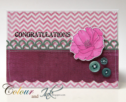 Congratulations Card by Deirdre - Irl
