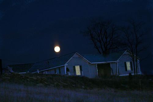 Full moon over artcroft