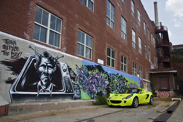 green lotus elise ky arts center louisville roadster krypton lotuselise mellwood 111r