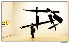Surreal ART (solamore) Tags: people newyork art museumofmodernart knifes