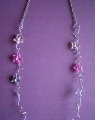 Pink Star Chain