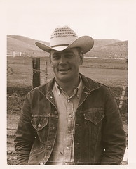 My father (Candy Brooks) Tags: cowboy montana father hero northdakota cattlerancher herefordbreeder