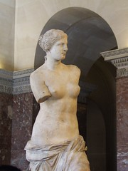 venus de milo 3 (byronv2) Tags: sculpture woman paris france art classic museum naked nude gallery louvre armless venusdemilo march2008