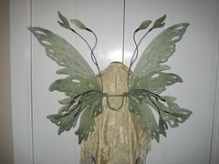 Green Fairy Wings back view (On Gossamer Wings) Tags: wedding costume wings handmade unique recital fairy flowergirl custom gossamer faerie greenfairy on fairywings faeriewings photographyprop faerywings adultcostume ongossamerwings wingmaking adultfairywings