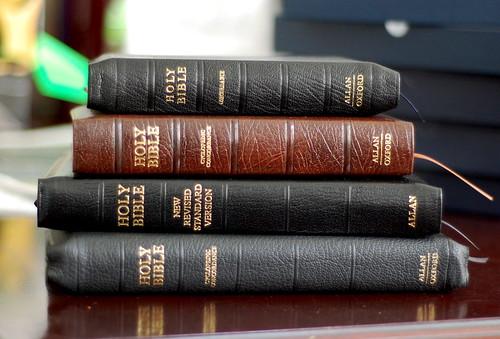 Allan's Bibles Unboxed