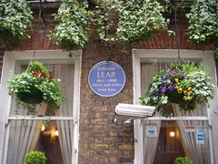 Photo of Edward Lear blue plaque