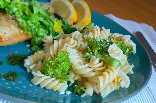 broccoli and fusilli