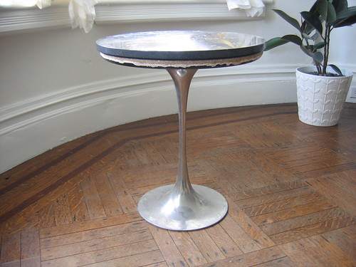 Weu0027re Planning To Use This Table Outside, Which Iu0027d Probably Hesitate To Do  If It Were The Real Thing (platinum Base + Black Marble Top U003d $759, ...