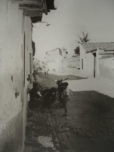 Calle de las Vaqueras desde el Paseo de los Curas