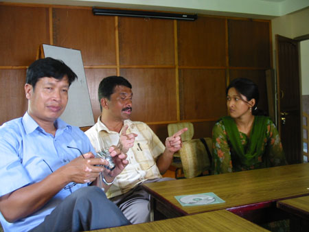 Surya, Ramesh and Ganga