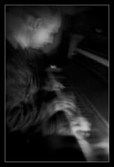 piano ... (MrsVedder) Tags: bw music club night happy mask ines joshua performance piano blurred josh irene pianos nite notte maschera pianoforte logies