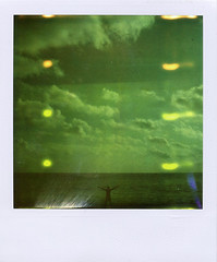.infinit. (andrenzo) Tags: sea portrait green love film composition polaroid sx70 photography photo dream filter dreams intro expired pola 779 10faves introcoso andrenzo andreacolombo introvertevent colomboandrea