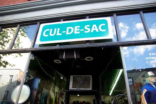 Cul-de-sac - Boulevard St-Laurent, Montreal