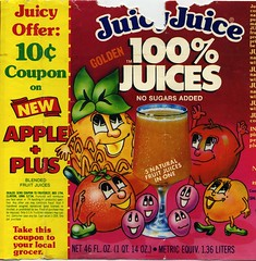 Golden Juicy Juice label