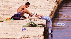 ... Quando il pesce non abbocca ..... (FranK.Dip) Tags: people fishing mare gente persone porto pesca salento brindisi ragazzi pescatori dimagez6 coglilattimo dip2 fotodivertenti thebestofday gnneniyisi 06032008 llovemypics frankdip lagentecheincontro