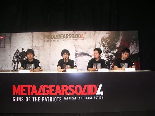 Los genios detrás de Metal Gear Solid 4